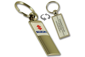 High end metal dealership and garage totem keychain #ZKATT by QCS Asia w10.17