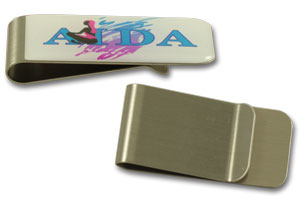 Metal money clip #MMC QCS Asia w20.17