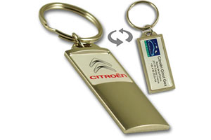 Metal dealership and garage totem keychain #MKATT by QCS Asia W4.17