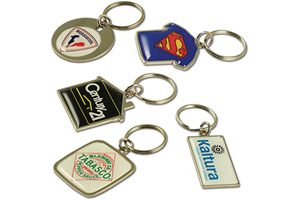 Metal keychain with doming #MKA line by QCS Asia w43.16