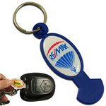 Trolley opener plastic keychain #PTOP by QCS Asia W29.16