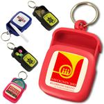 Pocket plastic ashtray/pillbox keychain #QAT3 by QCS Asia w35.16