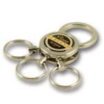 Zamac multi-ring keychain #ZMR205 by QCS Asia W5.16