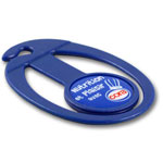 Trolley coin with shopping list holder #PCP by QCS Asia w9.17