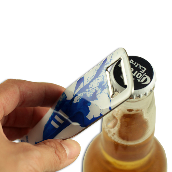 Bottle shape stainless steel speed bottle opener
