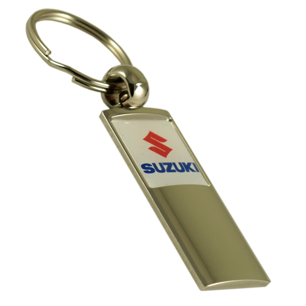High end metal dealership and garage totem keychain