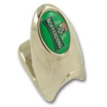 Quick-up zamac ring bottle opener